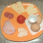 Gustare rece cu oua fierte