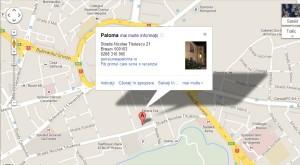 Harta Pensiunea Paloma 2