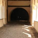 Biserica Prejmer - poarta de intrare