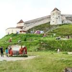Cetatea Rasnov - intrare