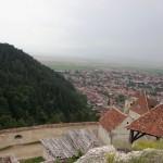 Cetatea Rasnov - panorama