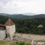Cetatea Rasnov zidul de aparare
