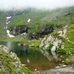 Zapada de iulie la Balea Lac