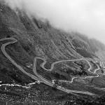 Drumul Transfagarasan in constructie